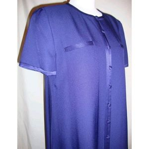 Evan Picone Button Sheath Dress